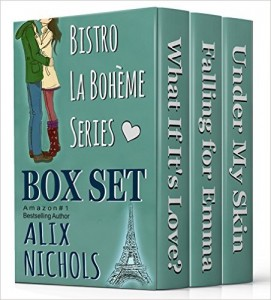 Bistro-La-Bohème-Box-Set-What-If-Its-Love-Falling-for-Emma-Under-My-Skin-Bistro-La-Bohème-Series